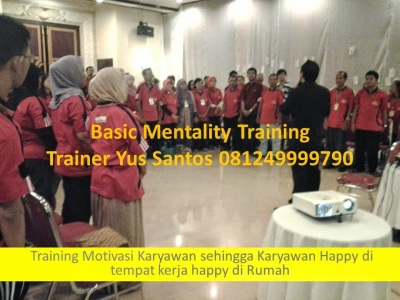 Training Basic Mentality